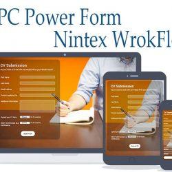 استفاده از پاورفرم در نینتکس power form in nintex task