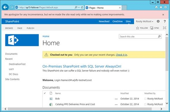 Setting up SharePoint Disaster Recovery Sites with SQL AlwaysOn