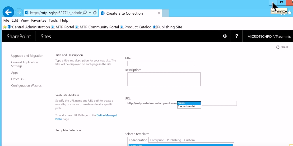 SharePoint Site Collection