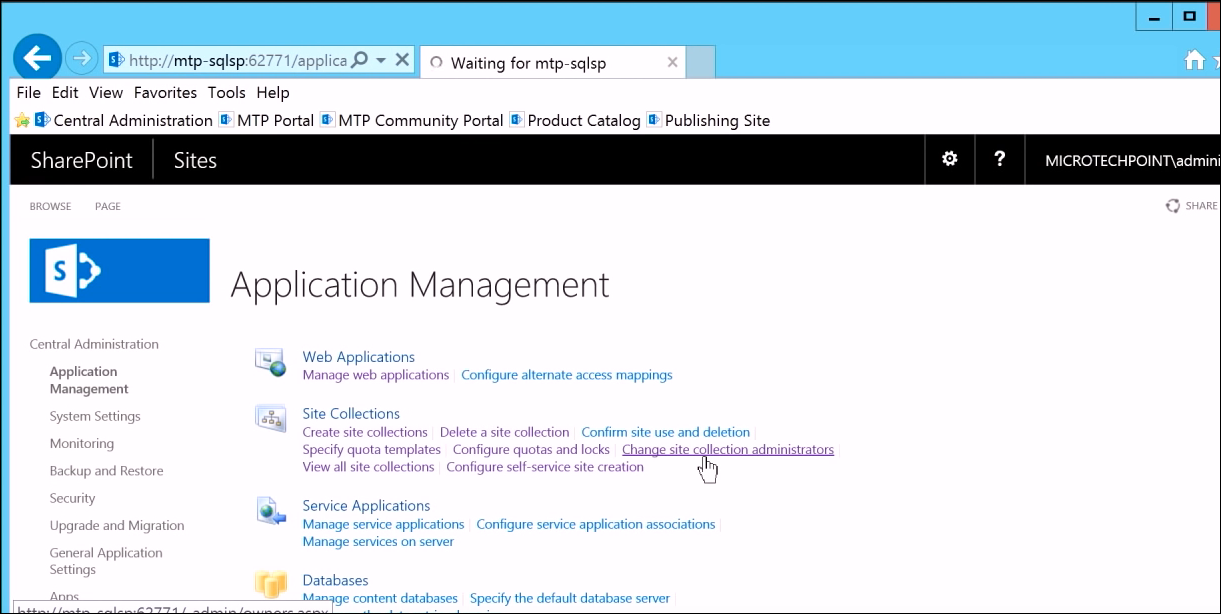 Site Collection Administrators SharePoint